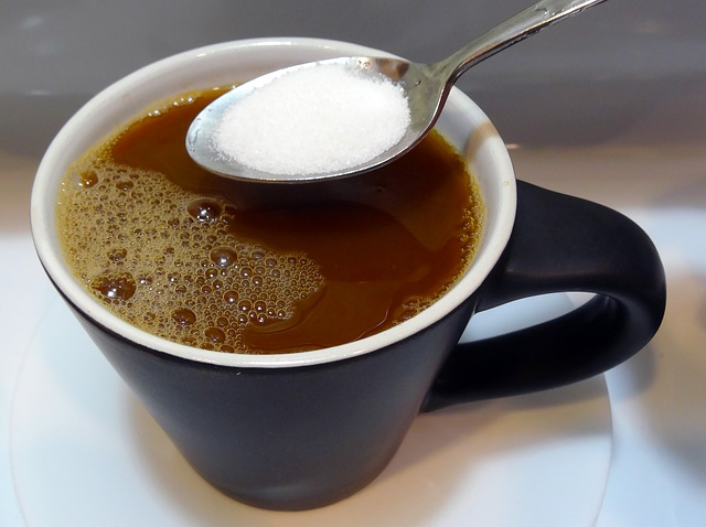 Adding sugar to coffee can shorten teeth