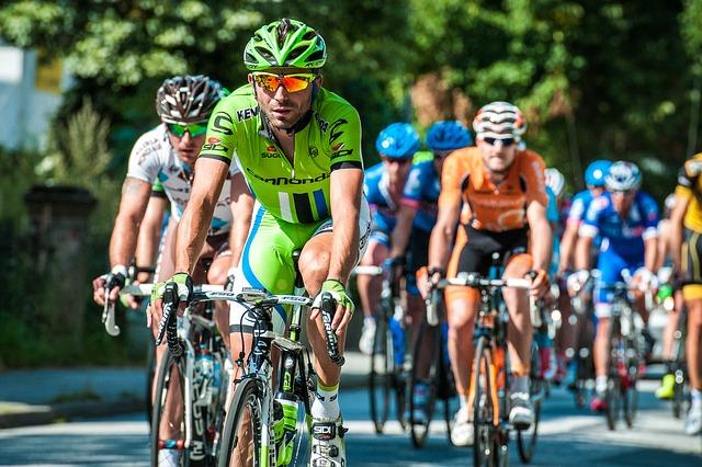 Bike race in Zeeland Michigan
