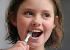 Good dental health begins in infancy