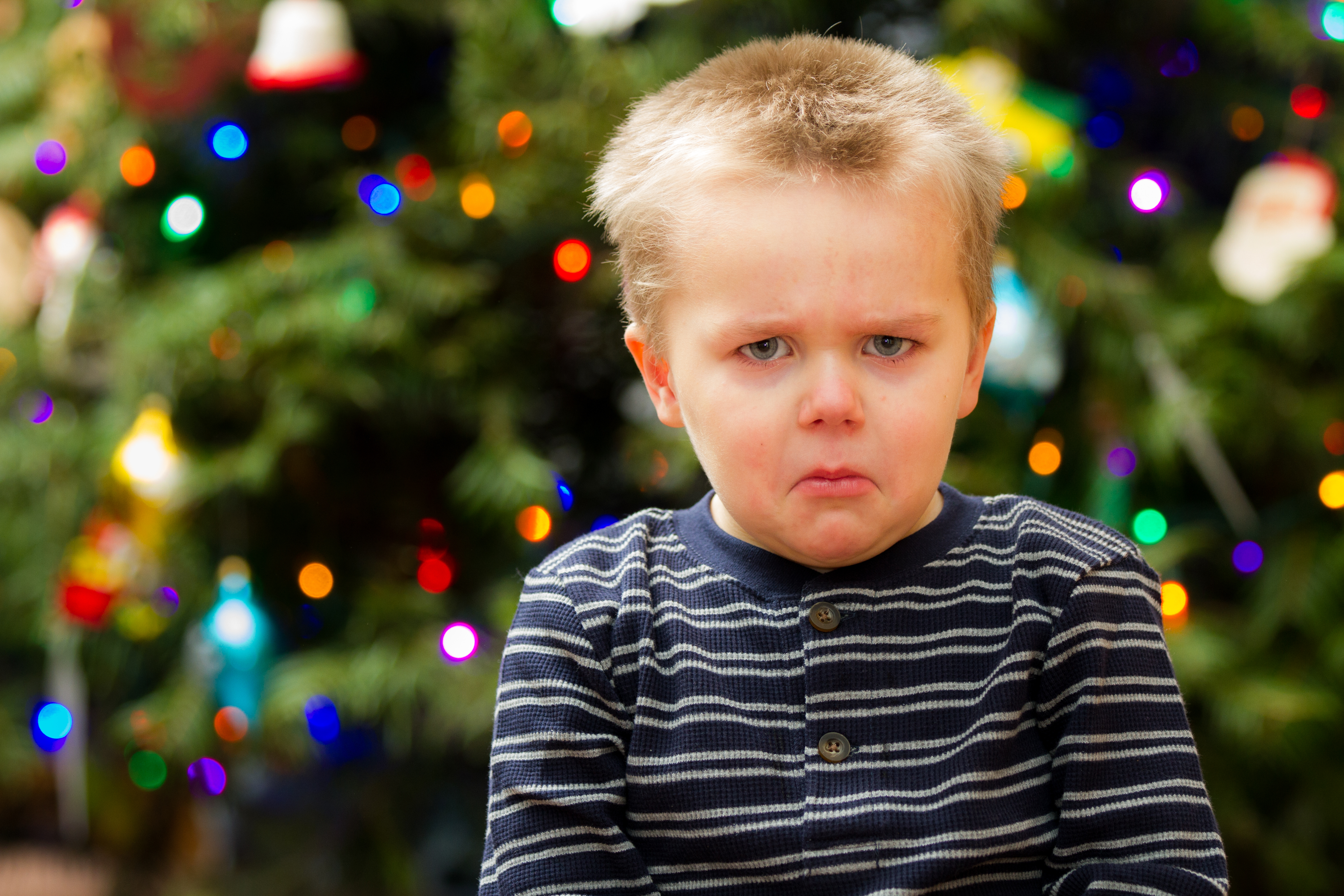 Holiday stress in kids